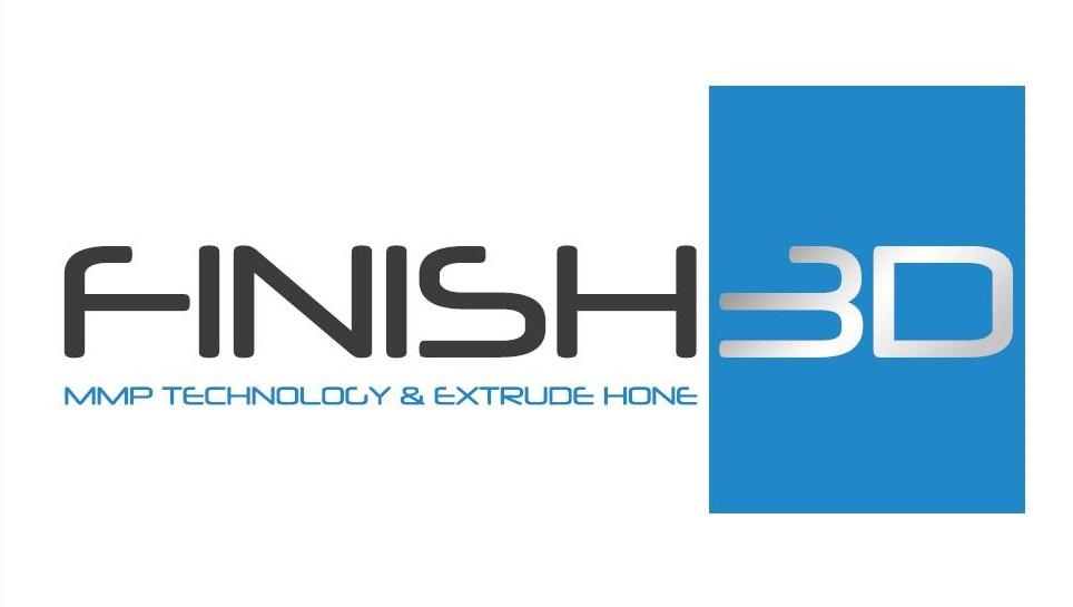 Extrude Hone FINISH 3D Logo