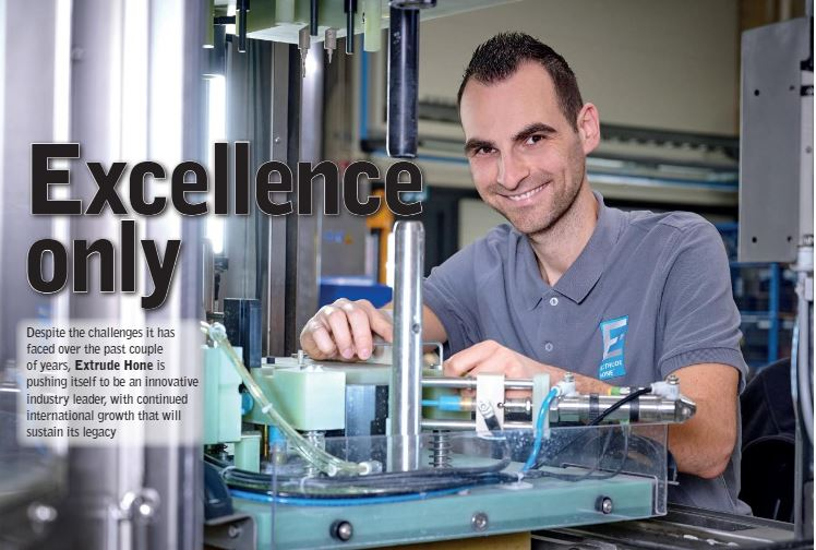 Extrude Hone apparait dans « Manufacturing Today »